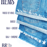 Bailey Ray and Co Hem Types