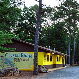 Crystal Ridge RV Park Building