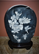 Luxury Home Decor Chrysanthemum Stone With Base