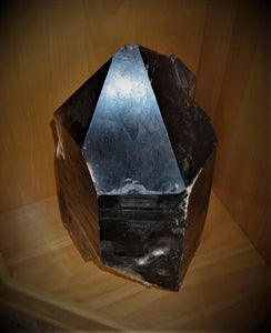 Large Smoky Quartz Crystal Point Luxury Home Decor