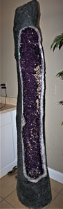 Amethyst Cathedral 6 Foot Tall Luxury Home Decor