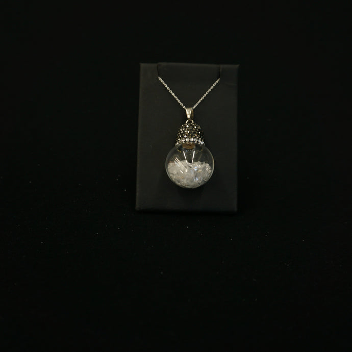 Globe Crystal Necklace Gift Idea