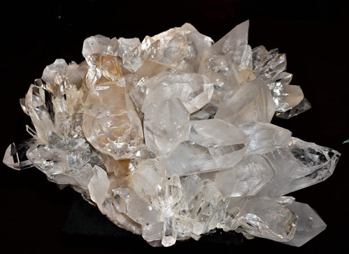 Large Arkansas Quartz Crystal Cluster From Ron Coleman Mining