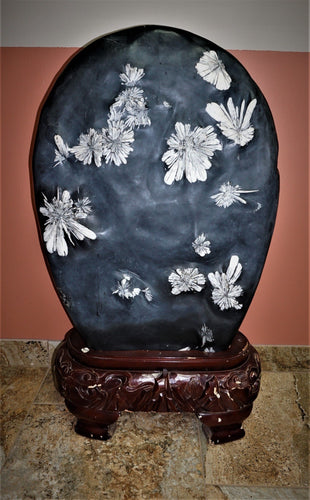 Uncommon Luxury Home Decor Large Chrysanthemum Flower Stone