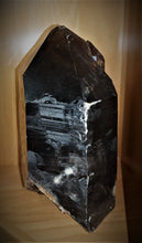 Alternate View 20 Inch Tall Natural Smoky Quartz