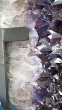 Close Up Of Amethyst Crystal Specimen