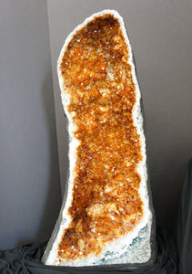 Citrine Cathedral 2 Foot Tall