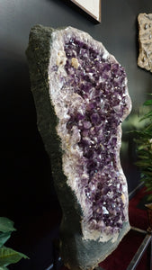 Alternate View Amethyst Cave Druzy Crystals