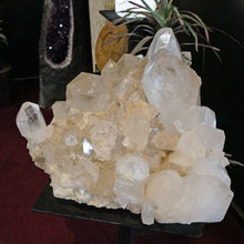 Side View Of Large Crystal Cluster From Ron Coleman Mining, Jessieville, AR