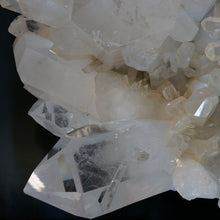 Close Up Of Crystal Point Growth On Large Crystal Cluster From Ron Coleman Mining