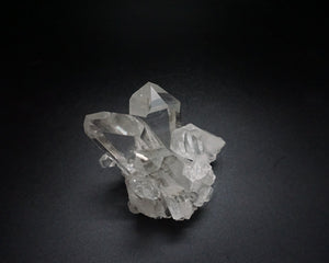 Top View Of 9.5 Inch Arkansas Quartz Crystal Cluster From Ron Coleman Mining