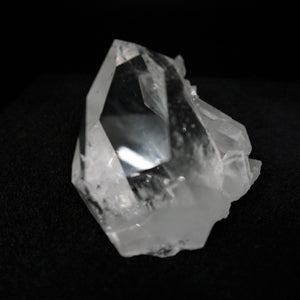 Close Up Of Clear Point On A 3 Inch Quartz Crytsal Cluster