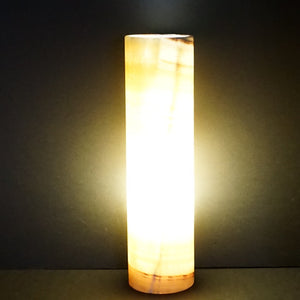 Mineral Table Lamp Onyx