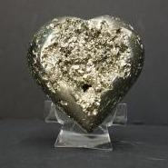 Heart Shape Pyrite Rock For Home Decor