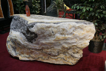 Carved Solid Stone Bar Phantom Calcite