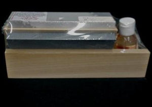 3 Stone Blade Sharpening Kit With Honing Oil