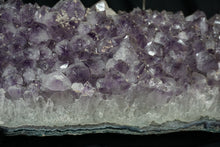 Side View Of Amethyst Druzy Candelabra