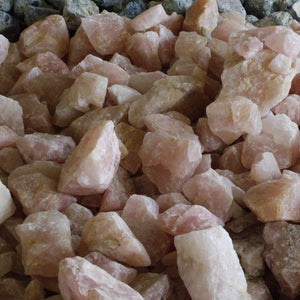 Rose Quartz Rough Uncut Stone Specimens $6.00 Per Pound