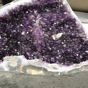 Mineral Decor Sparkling Beautiful Amethyst Druzy Crystal Specimen