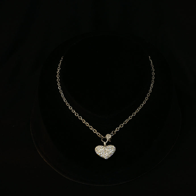 Swarovski Crystal Heart Necklace Gift For Her