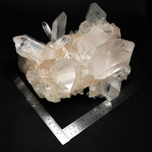 Luxury Mineral Decor Large Arkansas Clear Quartz Crystal Cluster