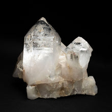 Alternate View Of Arkansas Quartz Crystal Cluster With Thick Points