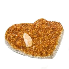 Beautiful Heart Shape Citrine Druzy Specimen