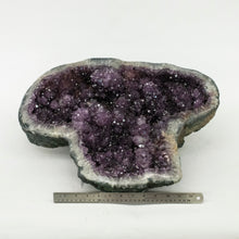 Sparkling Mineral Decor Low Profile Amethyst Druzy Crystal