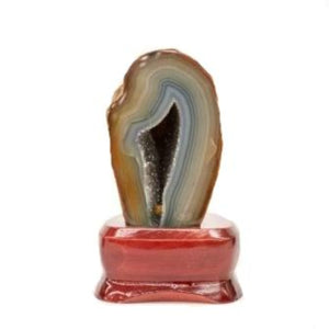 Home Decor Agate Specimen On Stand