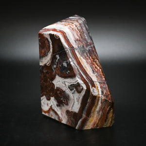 Amazing Red White Brown Black Dragon Jasper Stone Specimen