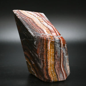 Side View Of A Red Jasper Specimen