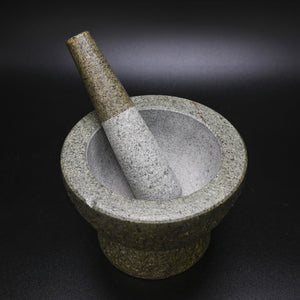 Thai Granite Rock Mortar & Pestle
