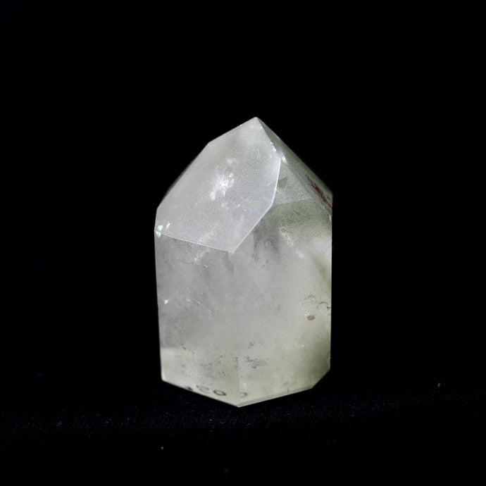Polished Brazilian Quartz Crystal Point