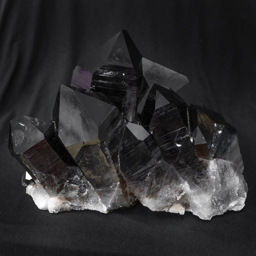 Enhanced Irradiated Quartz Crystal Cluster
