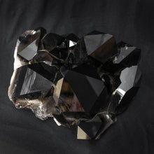 Enhanced Black Crystal Cluster