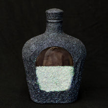 Recycled Glass Decanter Blue