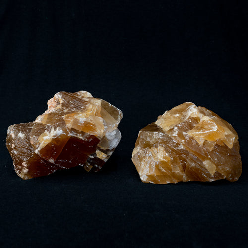 Honey Calcite Rock Specimens Uncut Sold By The Pound