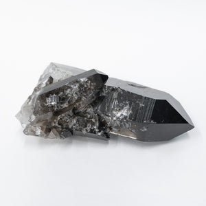 Enhanced Black Quartz Crystal Point