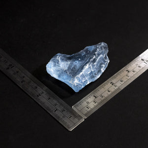 Light Blue Slag Glass