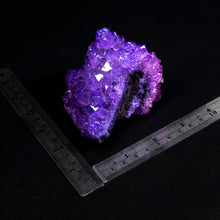 Dyed Amethyst Uncut Rough Rock Specimens $6.00 Per Pound
