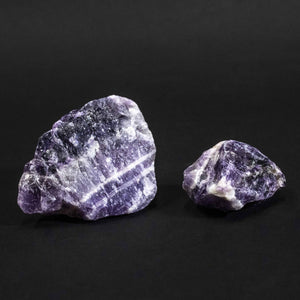 Chevron Amethyst Rough Sold In Bulk