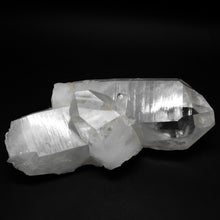 Large Clear Arkansas Quartz Crystal Cluster With Thick Points
