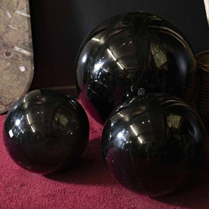 Grouping Of Obsidian Spheres