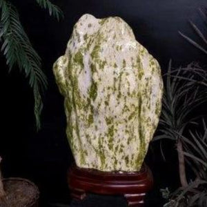 Mineral Home Decor Beautiful Carved Serpentine Jade Specimen