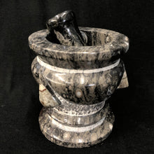 Gray Stone Mortar And Pestle Fossil