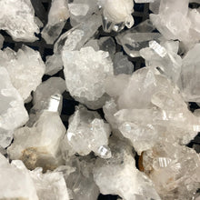 Water Clear Petite Arkansas Quartz Crystal Clusters