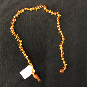 Dark Amber Baby Necklace