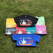 Yellow, Black, Mint Green, Gray, Red, Turquoise, Pink, Royal Blue Souvenir Dig The Crystal Experience Short Sleeve T Shirts