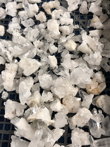 Small Extra Fine Crystal Clusters One Pound Minimum