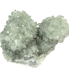 Small Mineral Decor Irradiated Quartz Crystal Cluster India Green